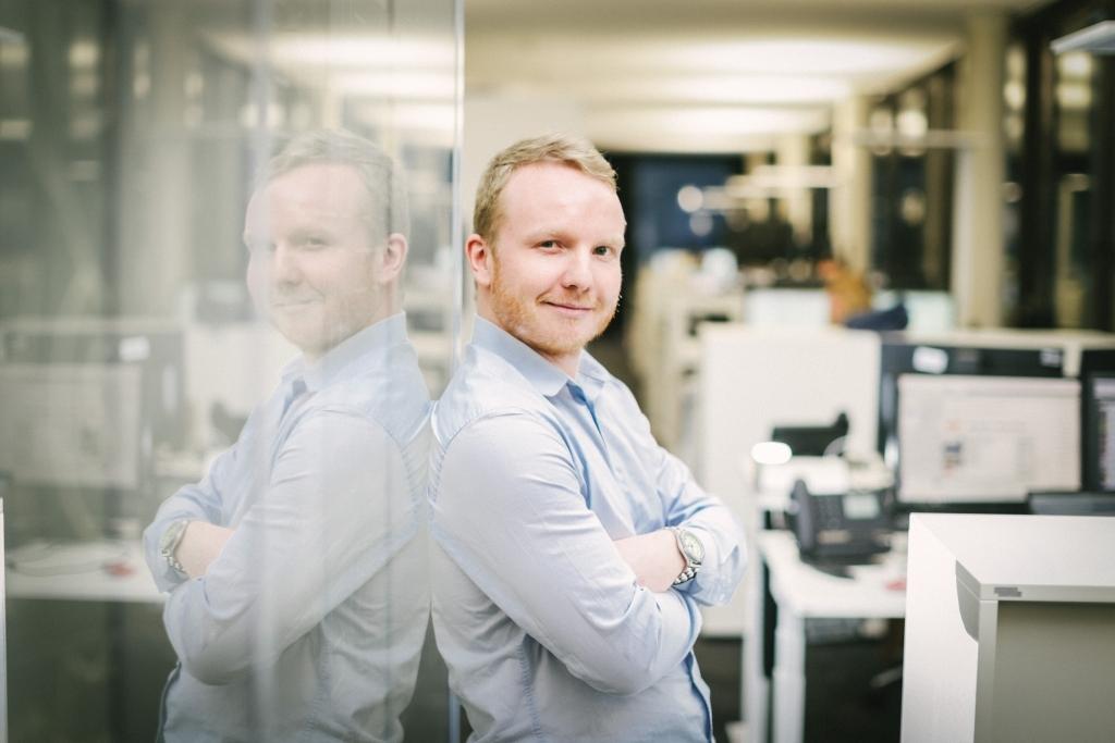 Jan David Sutthoff, Redaktionsleiter moin.de