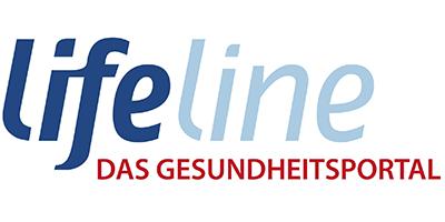 Logo lifeline Das Gesundheitsportal